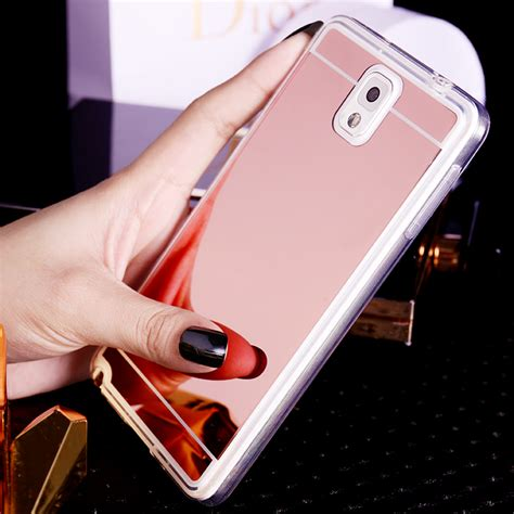samsung s7 s6 edge note 5 silicone mirror protective sleeve cases sg705 cheap cell