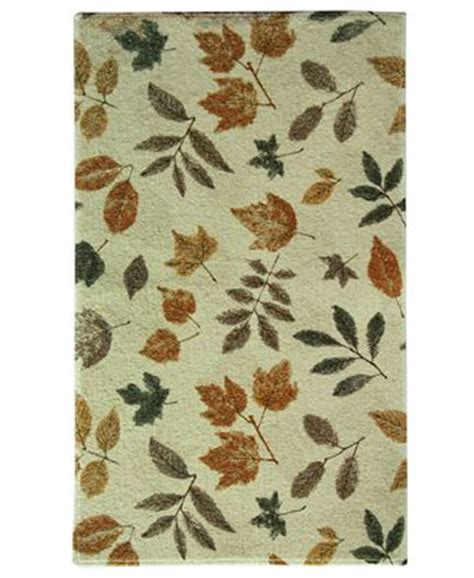bacova accent rugs bacova rugs elegant dimensions fossil leaf accent rugs
