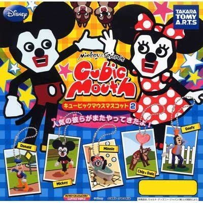 Tomica Mickey And Minnie Mouse Cubic Mouse Tap Set takara tomy tomica disney motor micky mouse 1 car models 1 mini figure from japan shopping