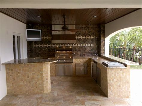 Outside Kitchen Designs Pictures How To Build An Outdoor Kitchen Island Outdoor Kitchen