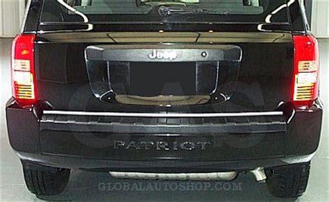 Jeep Patriot Trunk Cover Jeep Patriot Chrome Trunk Lid Trim Rear Chrome Trim