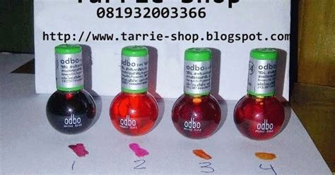Lip Tint Odbo Pewarna Bibir Korea Asli tarrie shop toko kosmetik terlengkap dan