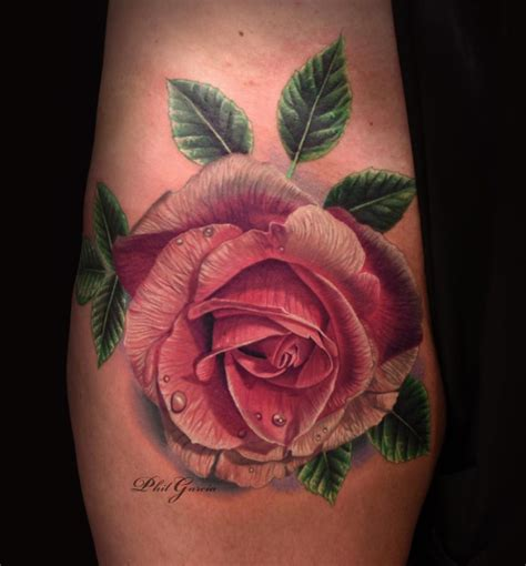 rose tattoo with leaves 75 beautiful designs for and dzine mag