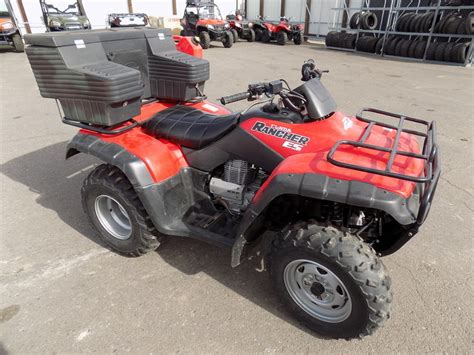 350 honda motorcycle for sale 2002 honda rancher 350 motorcycles for sale