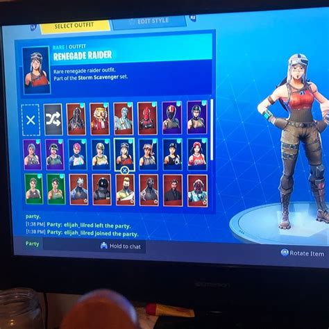 fortnite accounts other fortnite account with skins poshmark