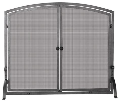door mesh place screen w iron frame 39