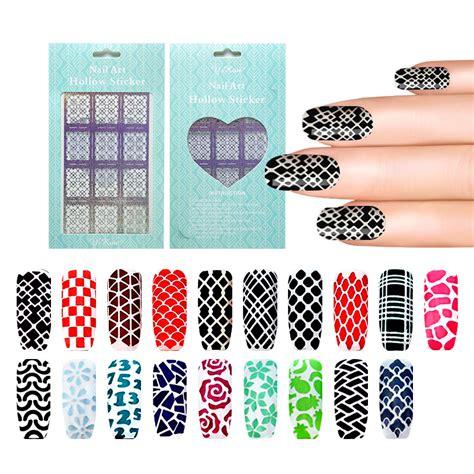 nail art pattern stickers fashion nail sticker diy design nail art sticker decals