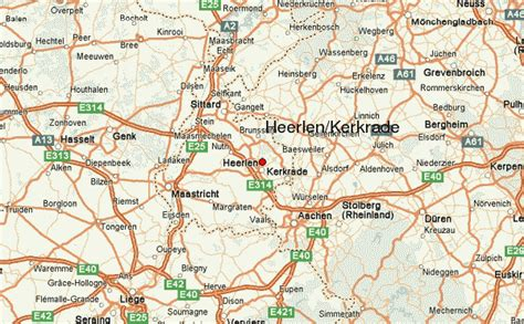 heerlen netherlands map heerlen map and heerlen satellite image