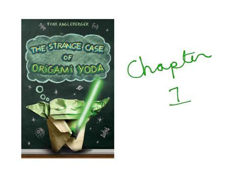 Origami Yoda Summary - the strange of origami yoda summary images craft