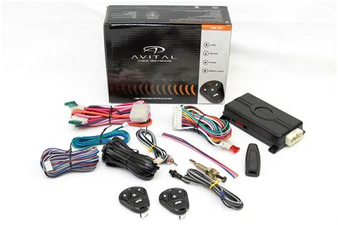 remote car starters avital 4103 car remote start with keyless entry ebay