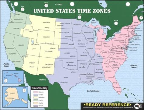 map of the united states divided by time zones ready reference u s world maps with time zones
