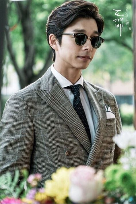 goblin cast outfit gong yoo s goblin hairstyle kpop korean hair and style