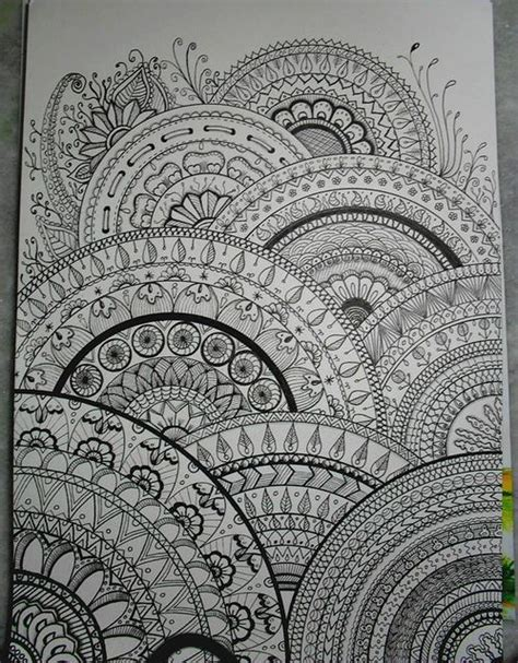pattern mandala drawing zentangle pattern tumblr