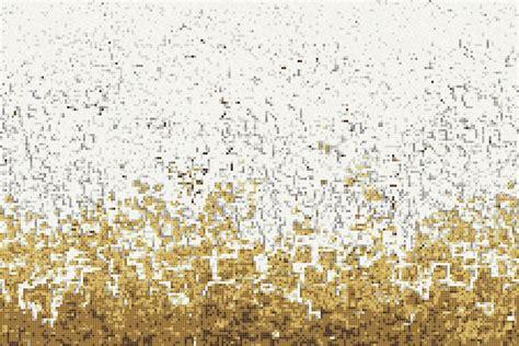 Kitchen Tile Designs For Backsplash yellow waves tile pattern rising tide gold by artaic