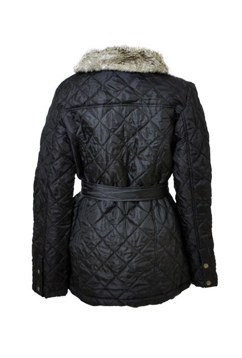 Black Quilted Jacket by Off48 Barbour Jacket Shop Barbour Outlet Uk