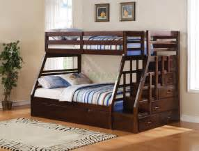 Loft Bed Vancouver Bc Taurus Bunk Bed With Stairs And Trundle In