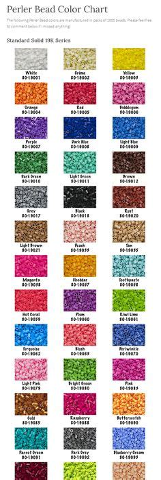 perler bead colors the beadsprites forum perler and hama color charts h