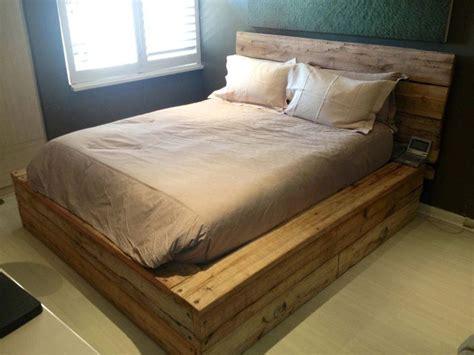 headboard com bed worth scaffolding
