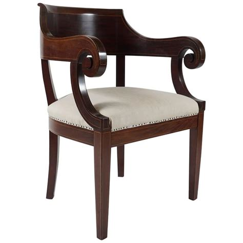 library armchair classical american library armchair for sale at 1stdibs
