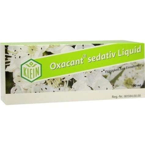 So Klin Liquid 23 Ml oxacant sedativ liquid 100ml abc arznei