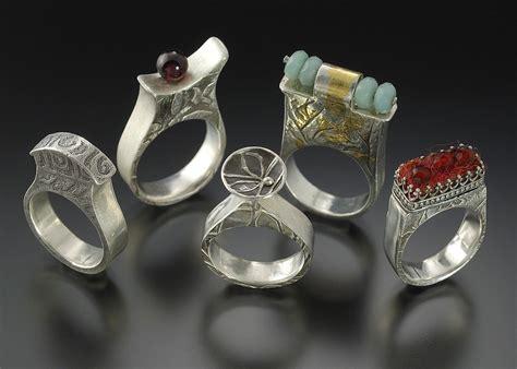 metal clay jewelry lora hart blogs lora hart s jewels rings made using