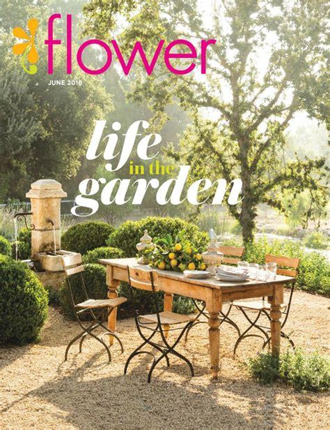 Flower And Garden Magazine Garden In Flower Magazine The Buzz Diane Home