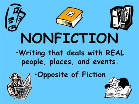 non fiction nonfiction notes ppt
