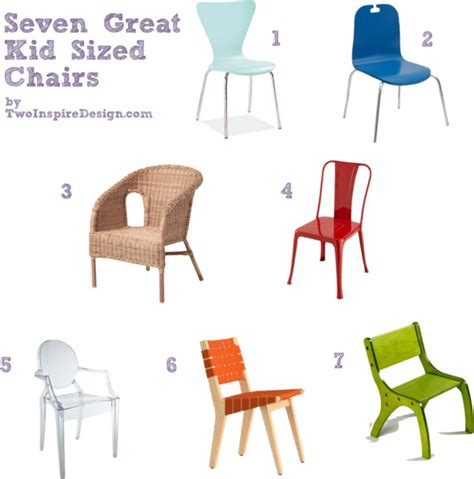 Kid Sized Chairs by Seven Great Kid Sized Chairs Twoinspiredesign