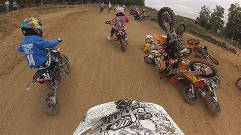 mx racing motocross fail start crash kids mx race ktm50sx youtube