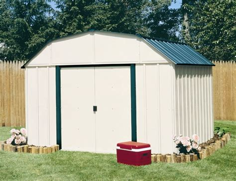arrow vinyl 10 x 14 premium outdoor storage shed