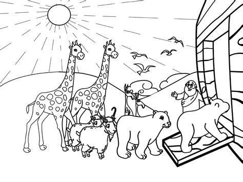 Noahs Ark Para Colorear Colorear Oldschoolnewbodyreview Us - Www ...
