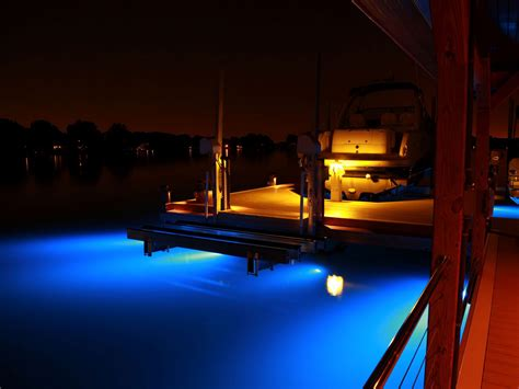 Underwater Lighting Fixtures Gallery Lake Norman Custom Docks From Lancaster Dock