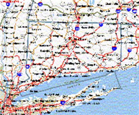 ct road map connecticut maps and state information