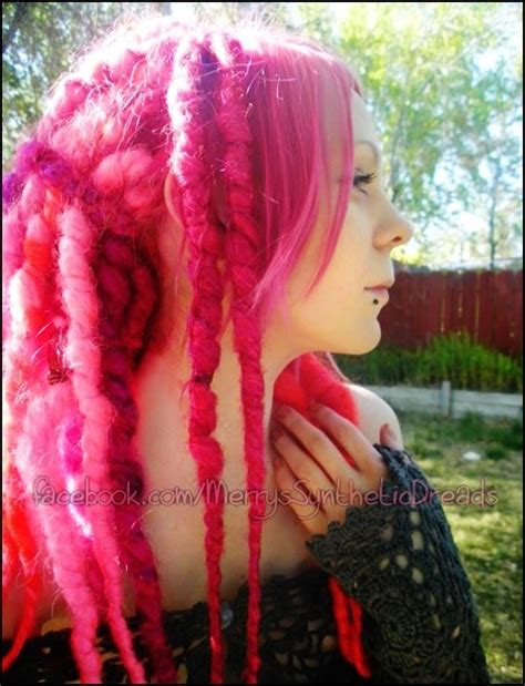 dreadlocks girl merry synthetic synthetic dreads hair 17 best images about synthetic and wool dreads on