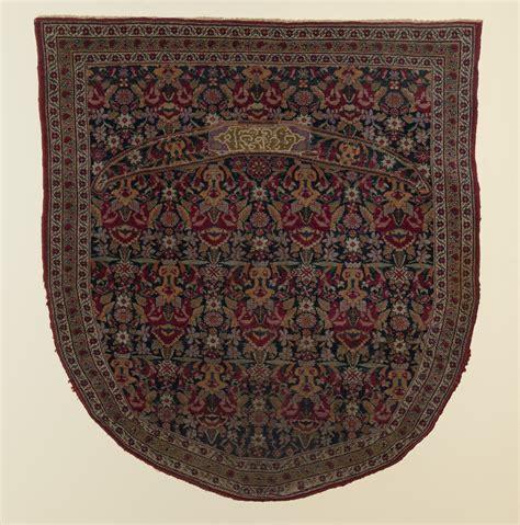 rug a saddlery kerman saddle rug macculloch historical museum