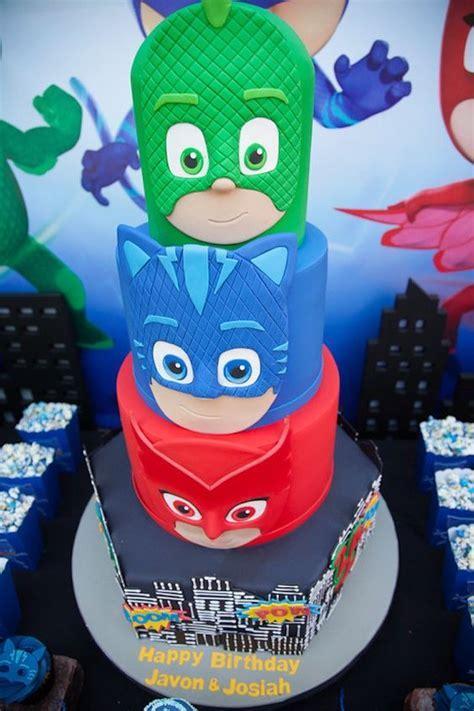 13 Fun PJ Masks Party Ideas   Pretty My Party