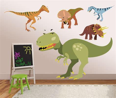 dinosaur bedroom wall stickers vinyl dinosaur wall decals kids wall stickers dino