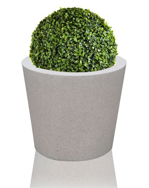 Terrazzo Planters by Poly Terrazzo Planter White Xl H50cm X 60cm
