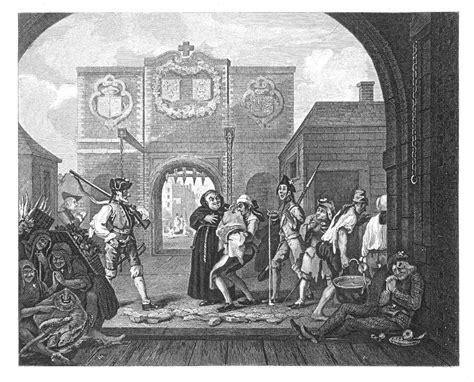 the gate of calais or the roast beef of old england william hogarth the works of william hogarth by john trusler gate of