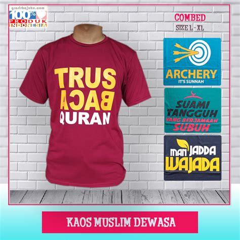 Dewasa Kaos supplier kaos muslim dewasa murah pusat bisnis grosir murah