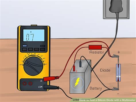 how to check diode value with multimeter 3 ways to test a silicon diode with a multimeter wikihow