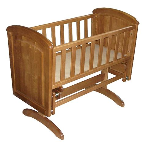Troll Nicole Panel Glider Crib With Mattress Troll Baby Crib