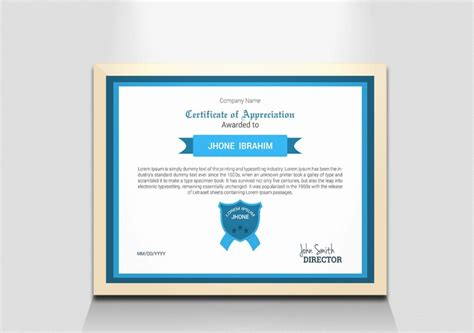 high resolution certificate template 20 award certificate template word eps ai and psd