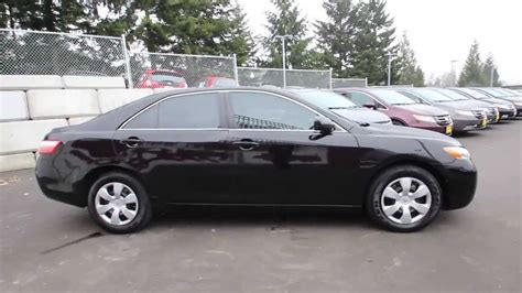 2009 Toyota Camry Le 2009 toyota camry le black 9r132069 seattle renton