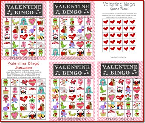 printable free valentine bingo free printable valentine s day activity sheet the girl