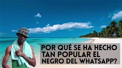 imagenes whatsapp negro el negro del whatsapp by blackjager youtube