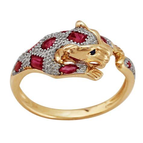 Ruby 10 65ct gemondo 9ct yellow gold 0 65ct ruby sapphire