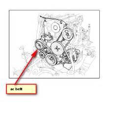 2006 Kia Spectra Belt Diagram 2005 Kia Clutch My Ac Compressor Siezed Belt Bypassing