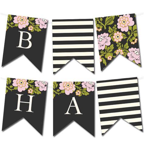 free bridal shower banner template un alphabet six styles une multitude de banni 232 res