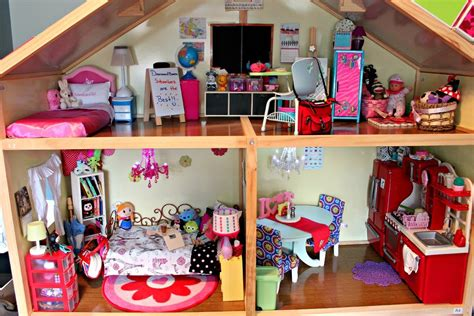 huge doll house huge american girl doll house tour updated 2015 youtube